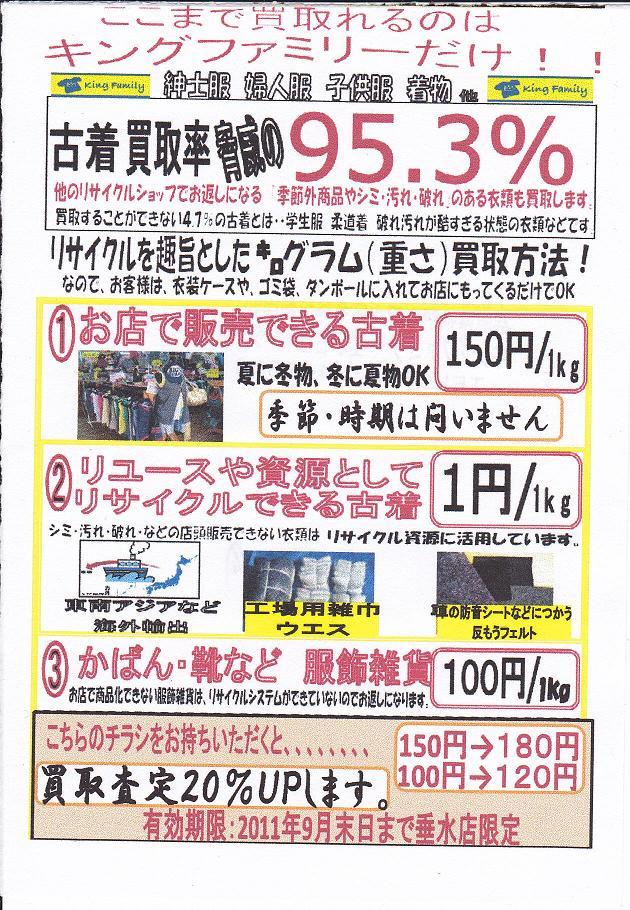 キングファミリー 名谷インター店☆買取20%UP!